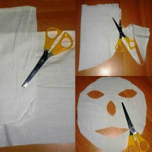 maschera tessuto