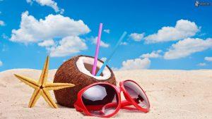 noce-di-cocco,-stella-di-mare,-occhiali-da-sole,-spiaggia-174056